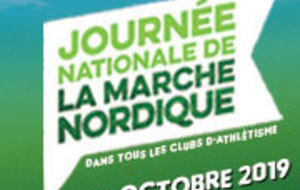5 octobre, Journée Nationale Marche Nordique
