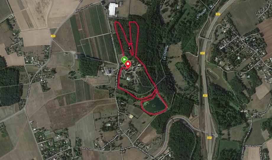 Circuit Nordique Fondettoise - 12 km
